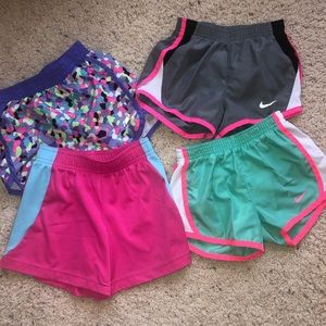 Lot of 4 active shorts 4T